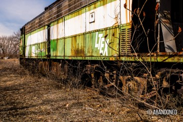 Burlington Northern 9917 EMD E9A