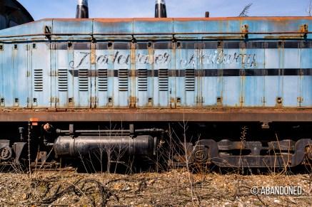Tradewater Railroad Locomotive