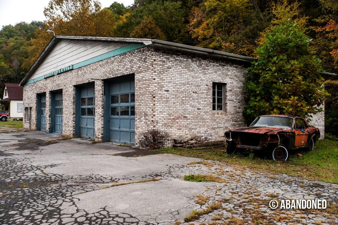 Gasoline Station Near Mullens West Virginia