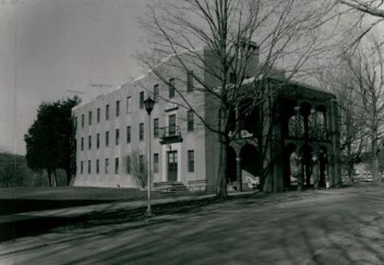 Residence Hall (Building 10) at Wassaic State School