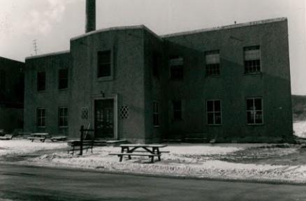 Vocational Rehabilitation Building (Building 16) at Wassaic State School
