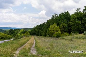 Former mine site at Henry.