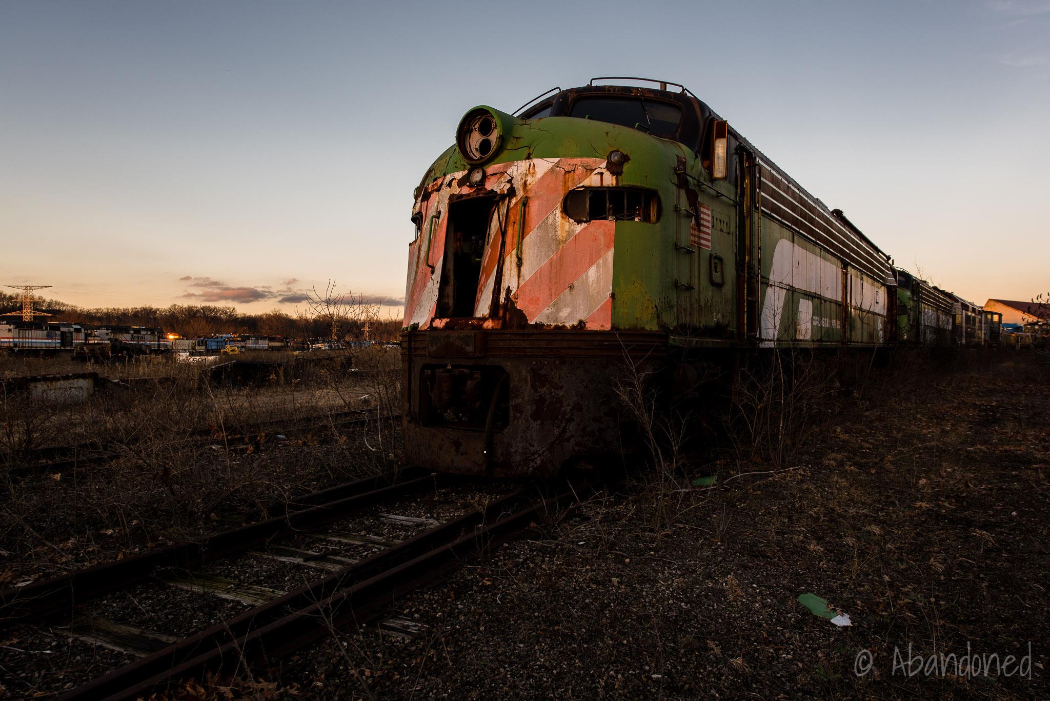 Burlington Northern Railroad 9917