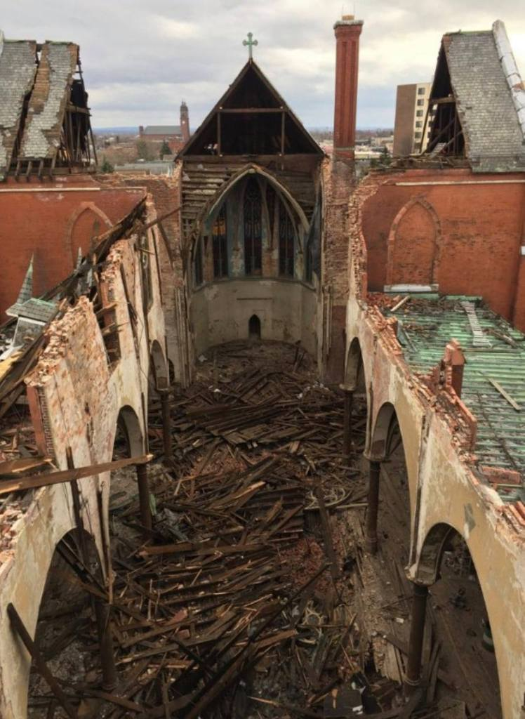 Church of the Transfiguration Collapse