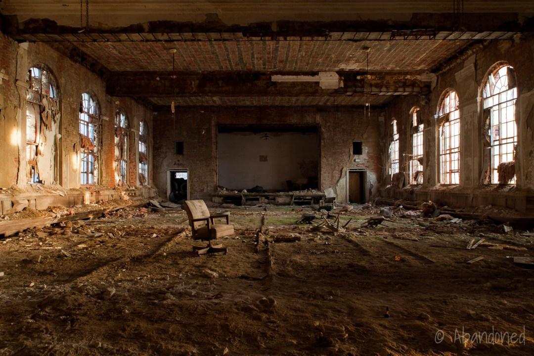 Ashlar Lodge No  639 Masonic Temple - Abandoned - Abandoned
