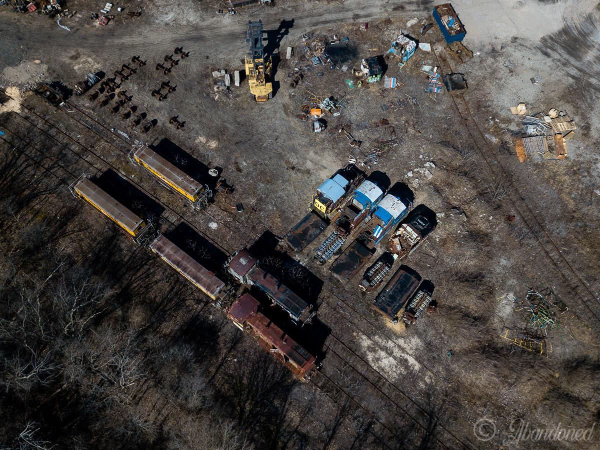 Railroad Locomotive Graveyard
