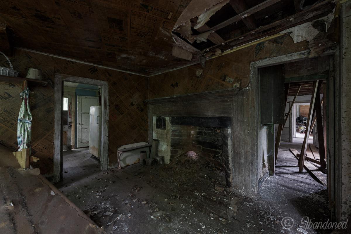 Abandoned Dutchess County House Kitchen