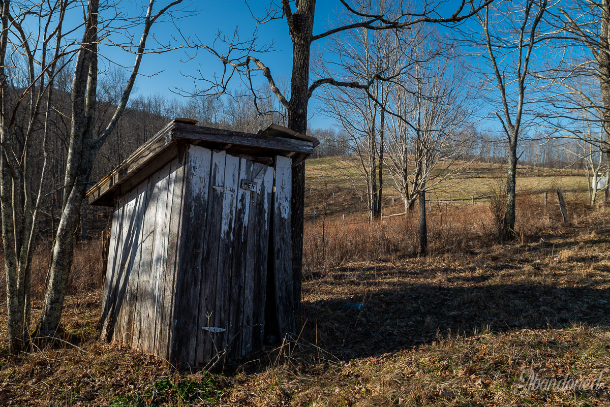 Hills Chapel Outhouse