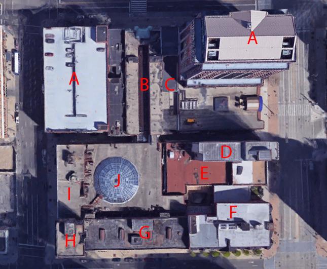 Map of Dayton Arcade