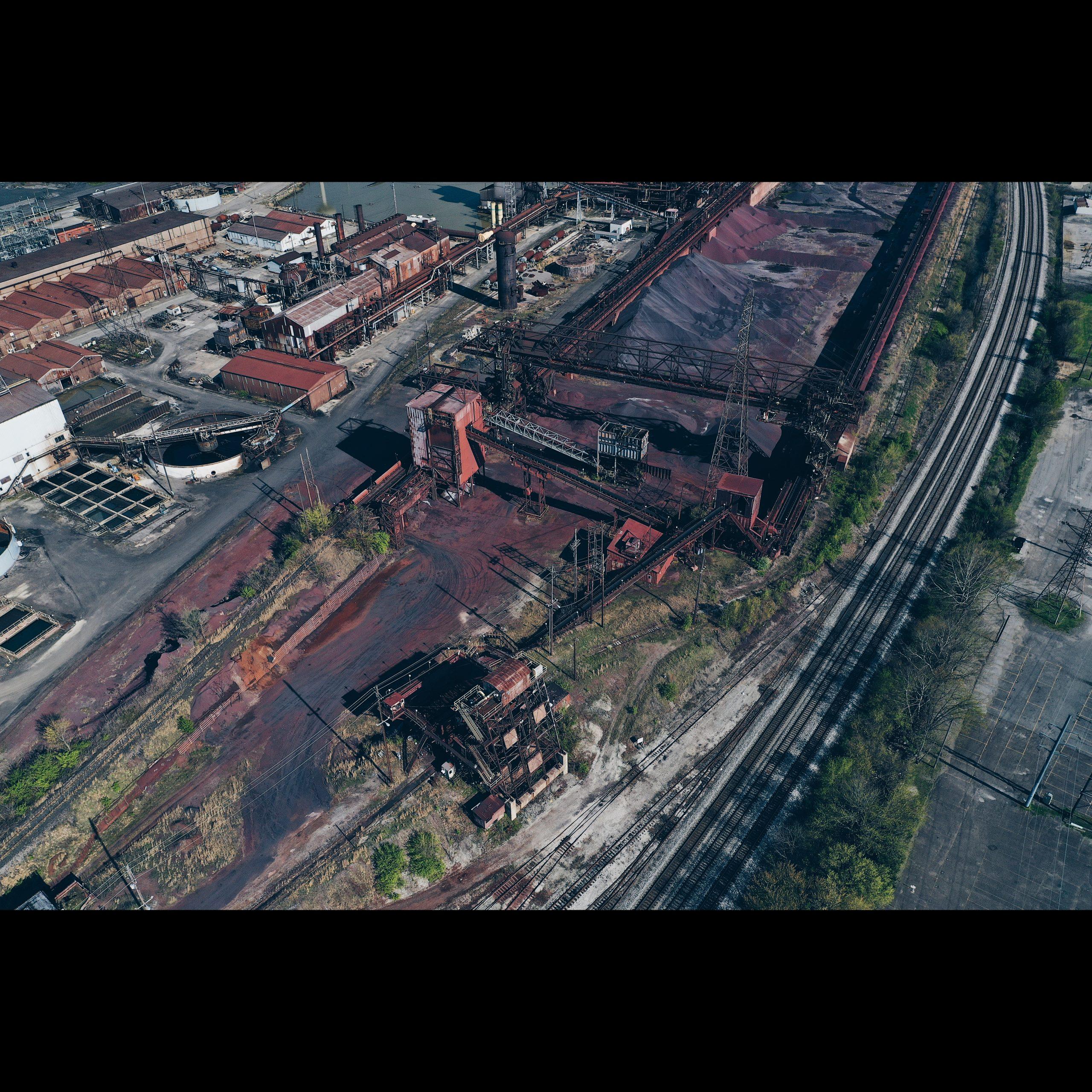 AK Steel Ashland Works - Ore Yard and Trestles