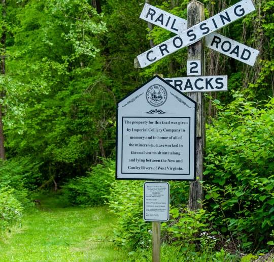 Chesapeake & Ohio Railroad Hawks Nest Subdivision