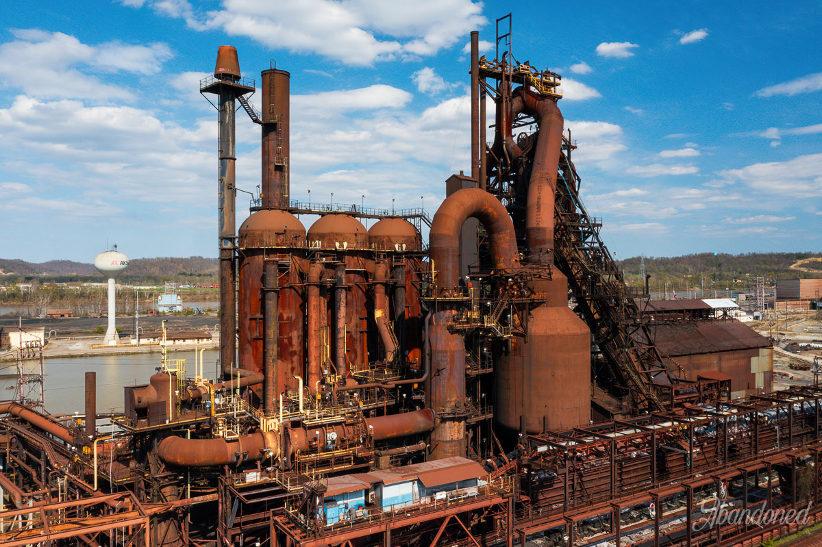 Armco Steel Ashland Works Amanda Blast Furnace