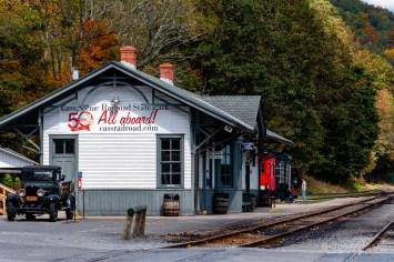 Chesapeake & Ohio Railroad Greenbrier Division Cass Depot