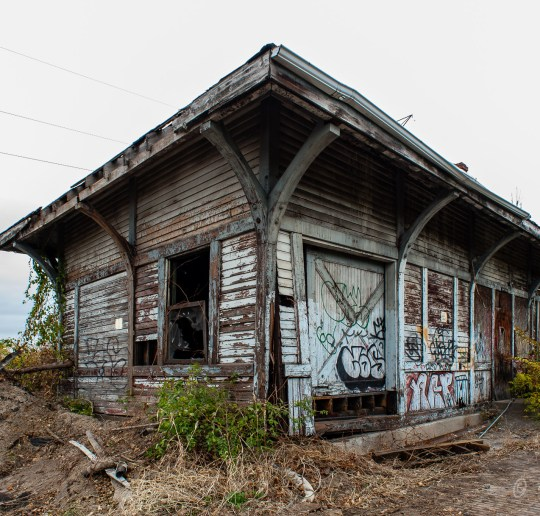 Baltimore & Ohio Railroad - St. Bernard Train Station