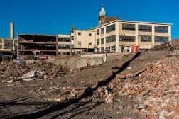Scranton Lace Company Demolition