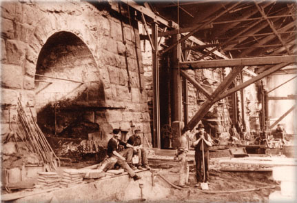 Tapping of the Furnaces