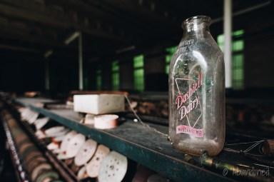 Vintage Dairy Bottle