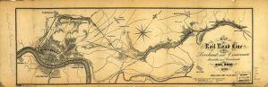 Marietta & Cincinnati Railroad Map