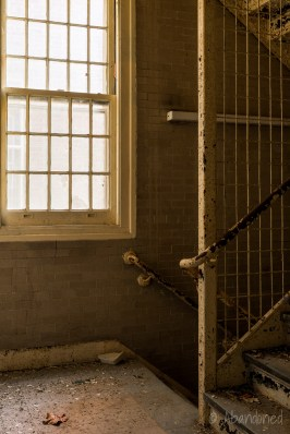 Central Islip State Hospital Stairwell