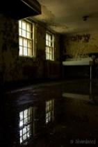 Central Islip State Hospital Restroom