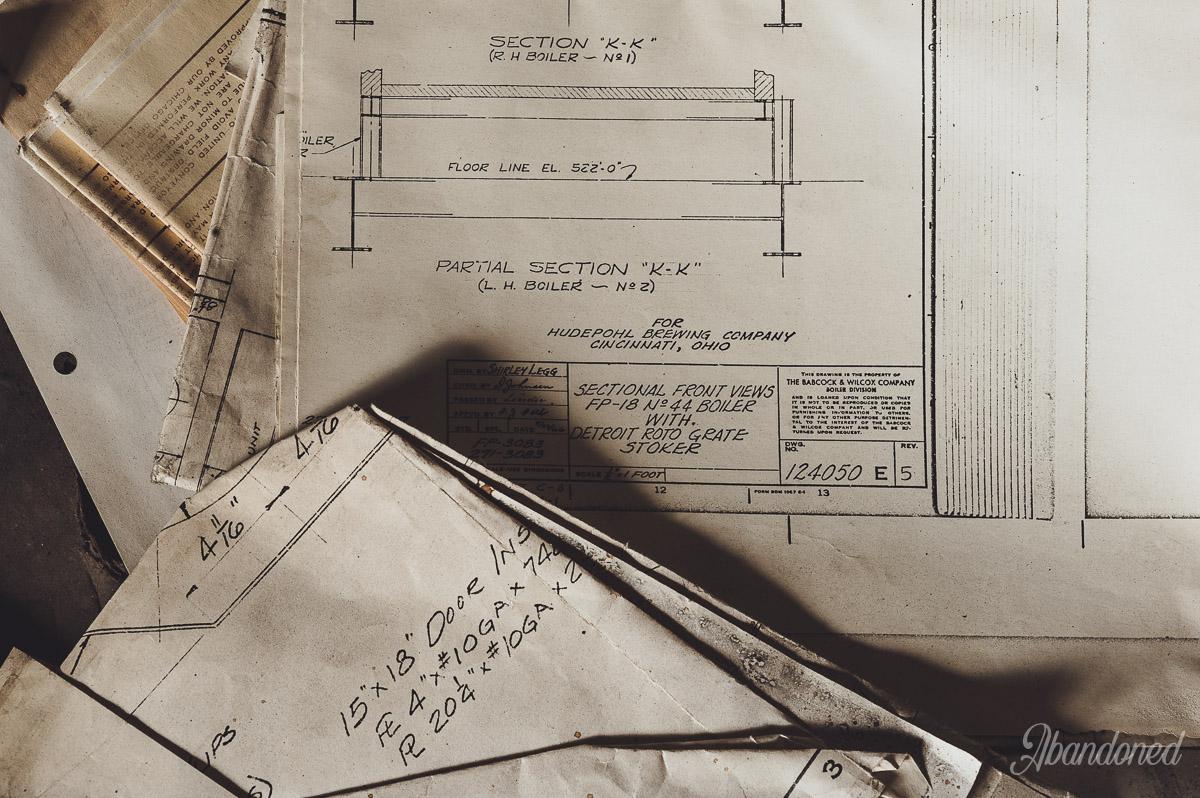 Hudepohl Brewing Company Blueprints