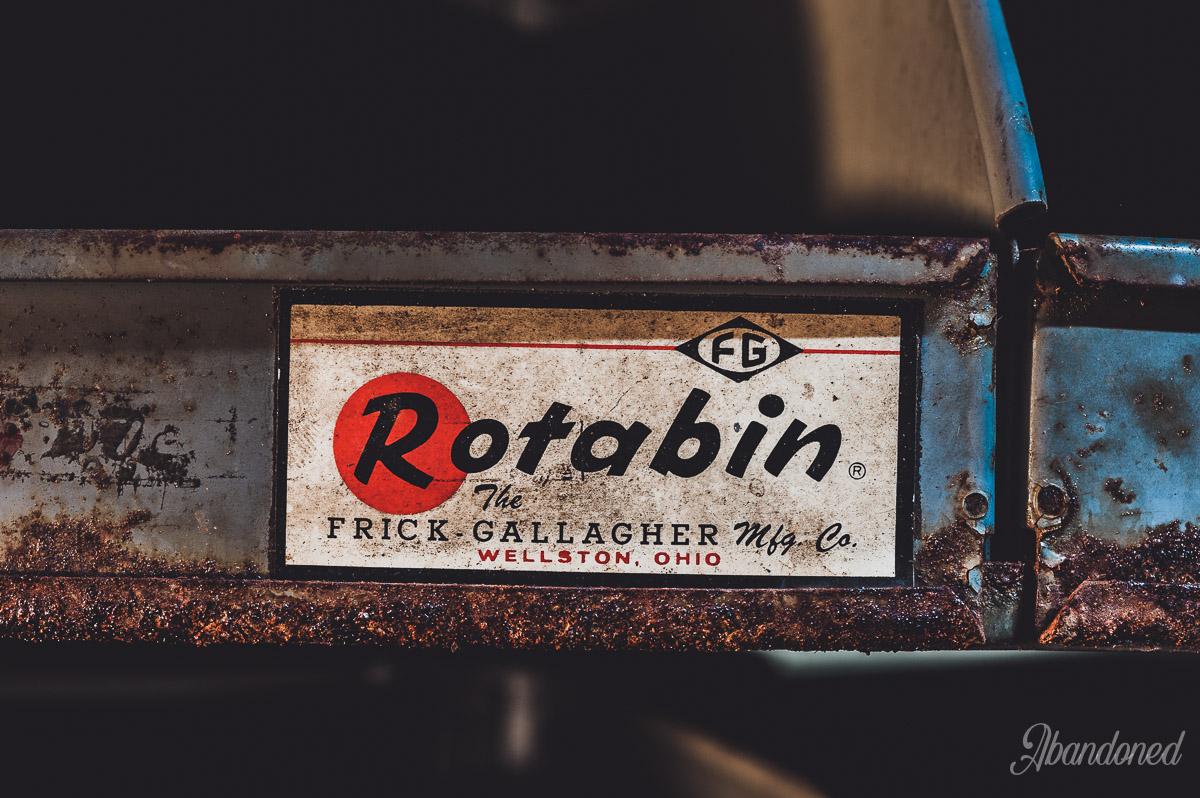Parker Tobacco Company Rotabin