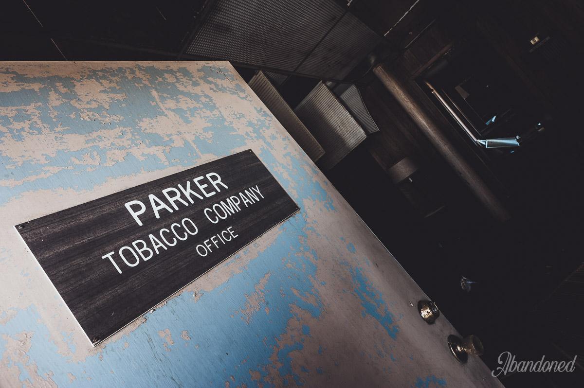 Parker Tobacco Company Door