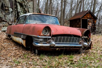 Abandoned Packard Mayfair