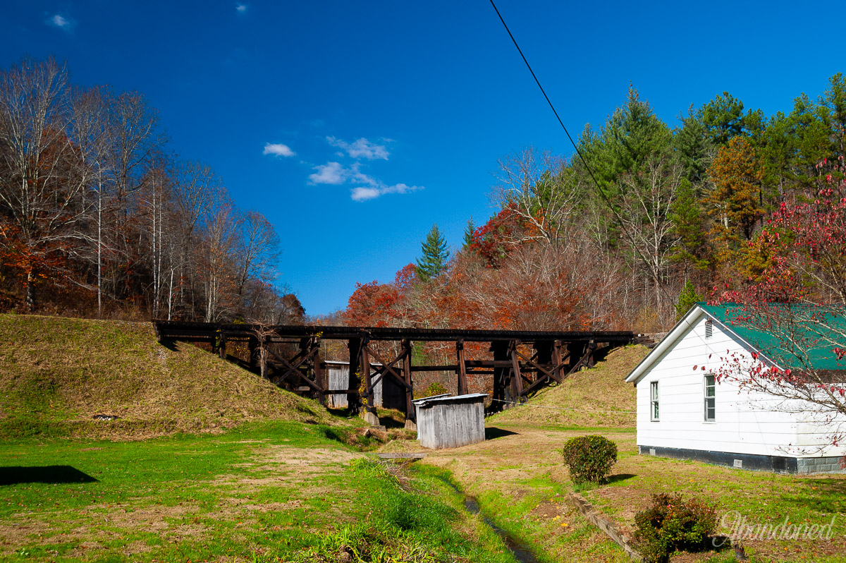 Chesapeake & Ohio Railroad Dawkins Subdivision Marshallville Trestle