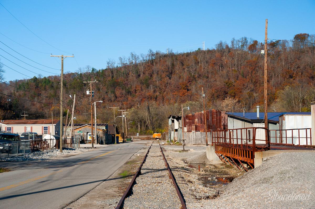 Chesapeake & Ohio Railroad Dawkins Subdivision West Prestonsburg