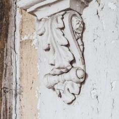 William Tarr House Plaster Detail