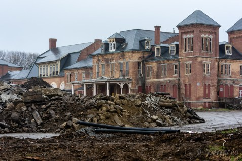 Main Hospital Building at Westborough State Hospital