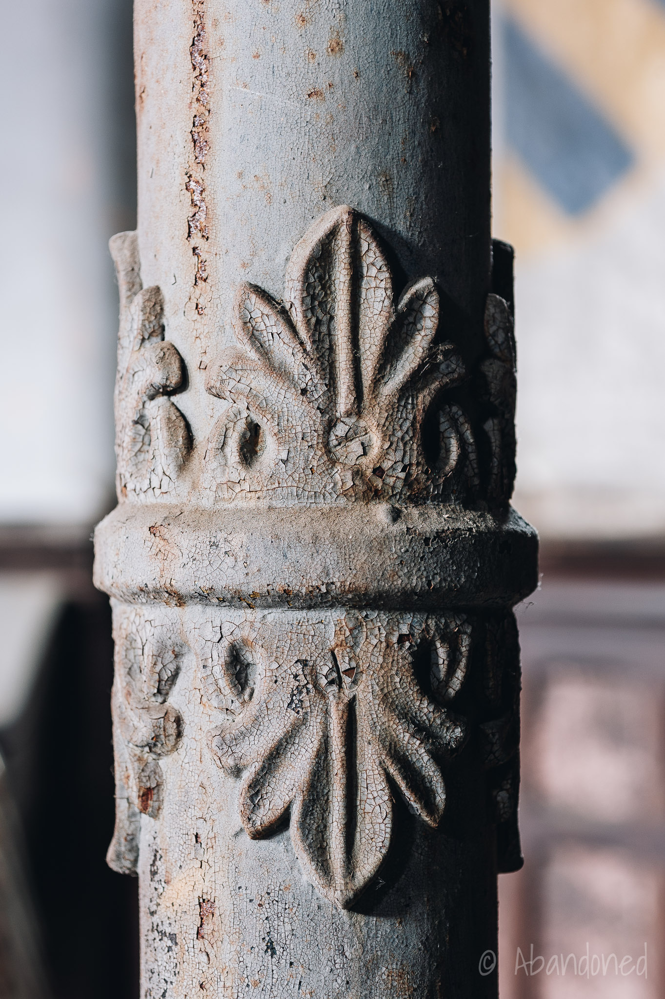 First German Reformed Church Iron Column