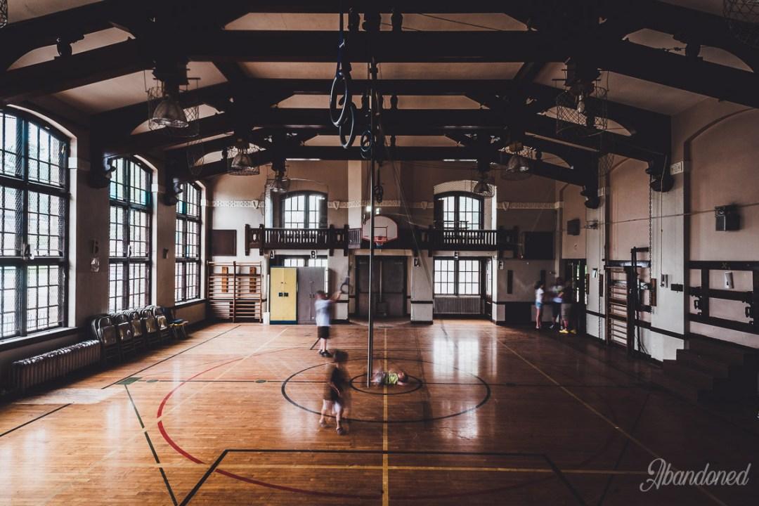 c. 1916 McKinley School Addition Gymnasium