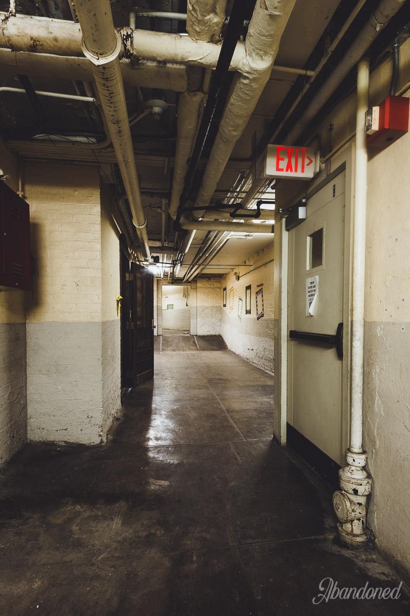 Linwood Public School Basement Hallway