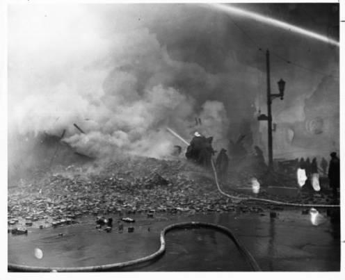 Louisville Varnish Company Fire