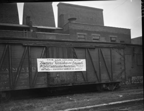 Louisville Varnish Company Boxcar