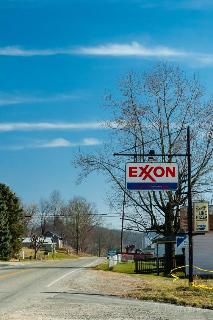 Exxon Gasoline Station