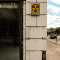 Millard Field Building Fallout Shelter Sign