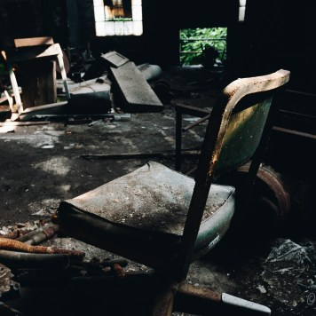 Fostoria Glass Chair