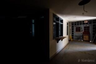 Medfield State Hospital Ward R Hallway and Lobby