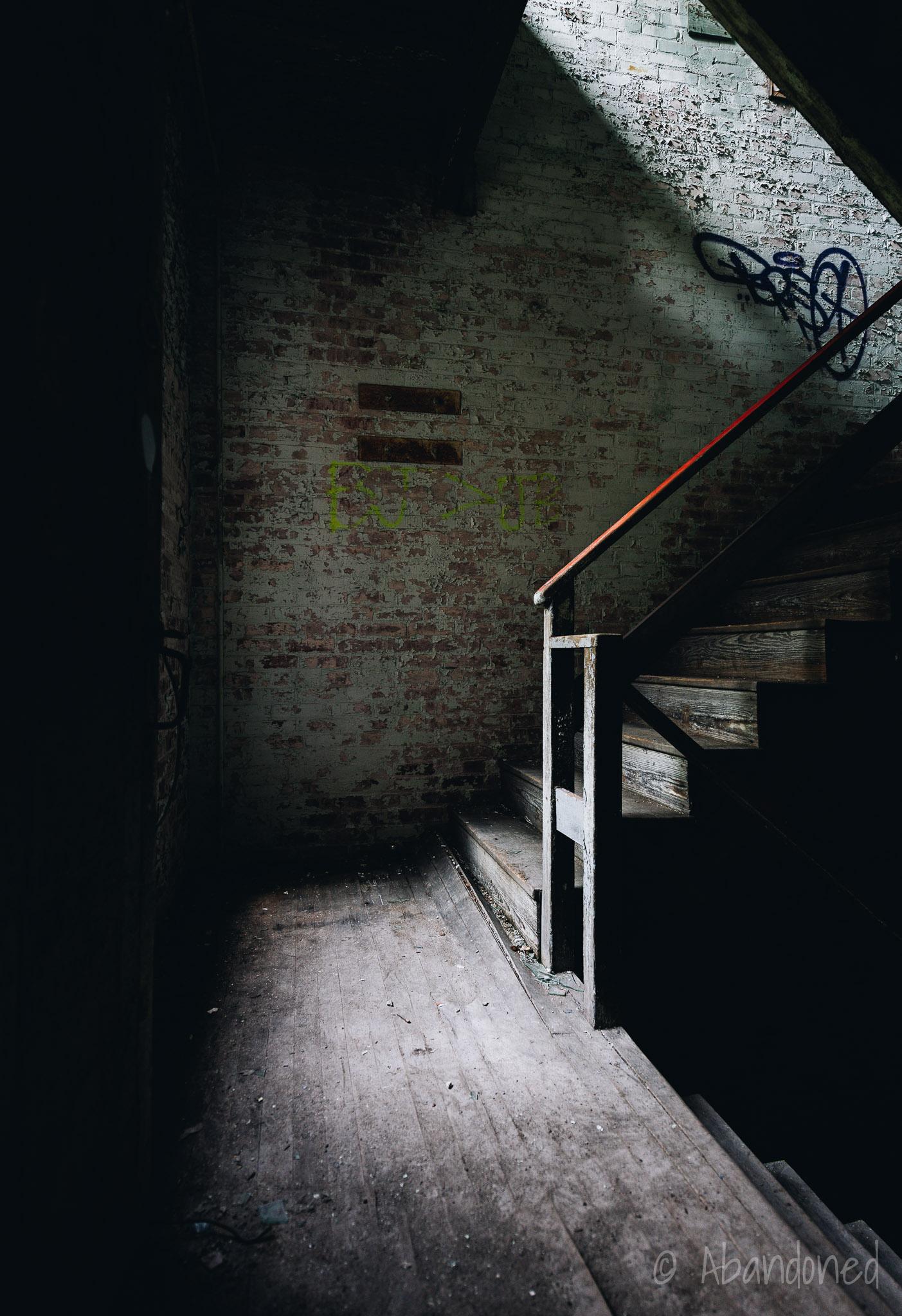 O'Hara Waltham Dial Company Stairwell