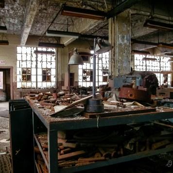 Fostoria Glass Machine Shop