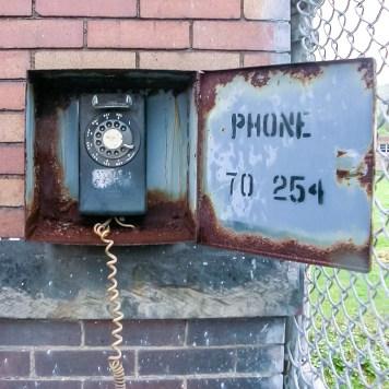 Fostoria Glass Phone
