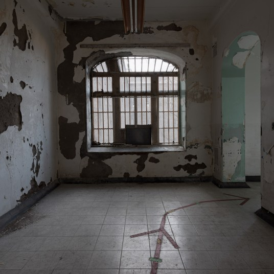 Trans-Allegheny Lunatic Asylum Ward Hallway with Large Window