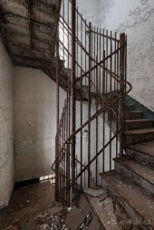 Trans-Allegheny Lunatic Asylum Ornate Staircases