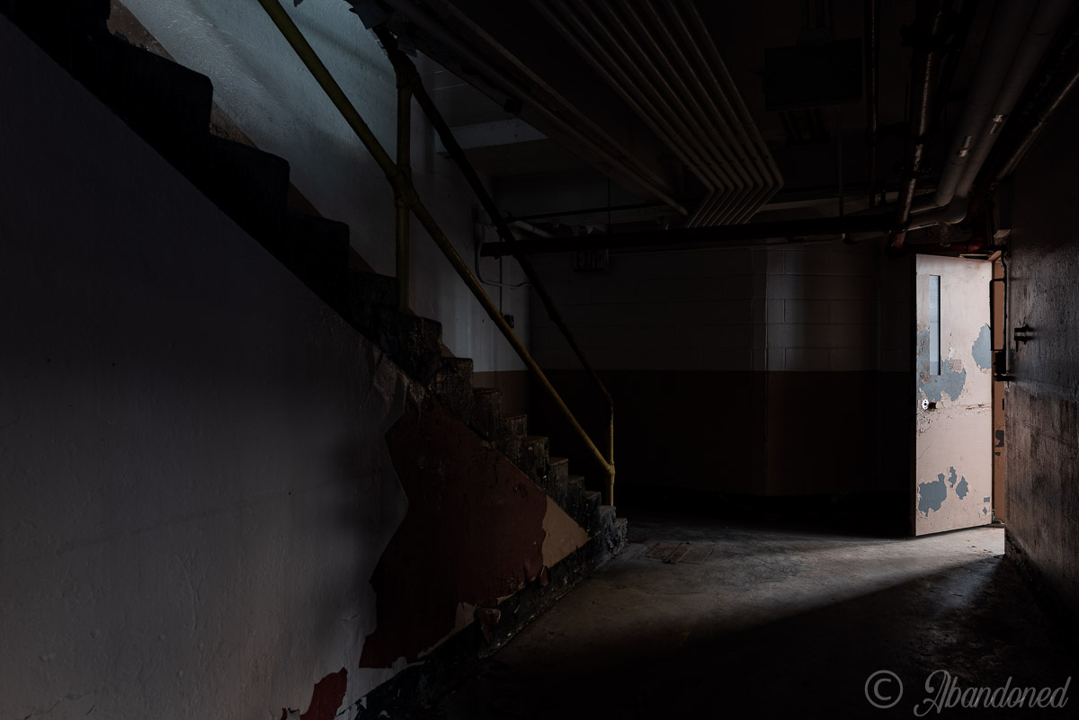 Stairwell at Brushy Mountain State Penitentiary