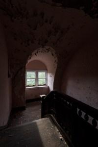 A. E. Burckhardt House Stairwell