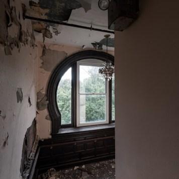 A. E. Burckhardt House Keyhole Window