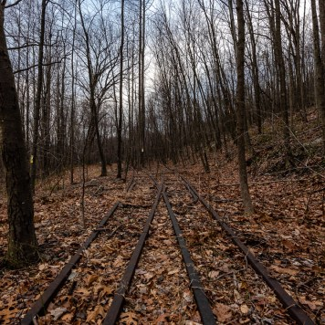 Tracks Near Sideling Hill Tunnel